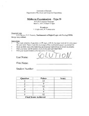ECE 342 Spring 2013 Midterm 1 Solutions