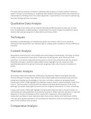 Qualitative Data Analysis Techniques | Example Analysis.docx