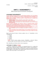 Unit 2 - Assignment 2