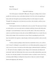 puroseful living essay