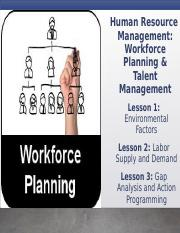 Slides for Module G - HRM Workforce Planning and Talent Management.pptx