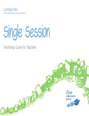 Single Session Workshop Guide for Teachers