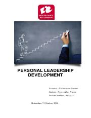 Personal Leadership Development