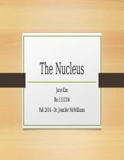 Module 3 Discussion - The Nucleus