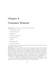 Lecture_Note_Set_9_Consumer_Demand