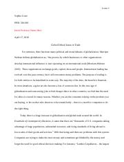 Global Ethics in trade.docx