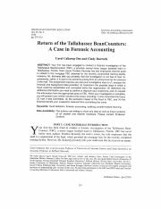 Return of the Tallahassee Bean Counters student case.pdf