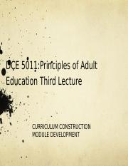 DCE 5011 3rd Lecture revisit