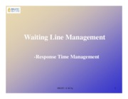 WaitingLineManagement
