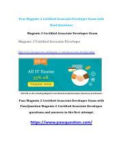 Magento 2 Certified Associate Developer Free Exam Questions V8.02.pdf