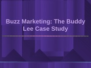 15. Buzz Marketing