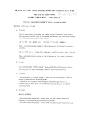 Rev 3610 Midterm Test W 2007 Solutions