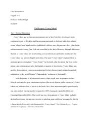 paper #2 first draft