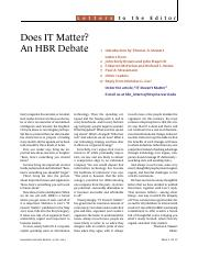 IT Doesn_t Matter-Letters to the Editor