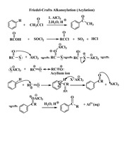 Friedel-Crafts Acylation1