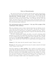 Thermodynamcis Review