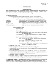 Midterm Study Guide (3.7.08)