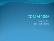 COMM 1006 may 12,2011