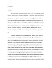 Photosynthesis Essay Intro To The Novel Paper  Their Eyes Were Watching God  English   Slavery And Family Formed The Backbone For Their Eyes Were Watching God And How To Write A High School Essay also Business Etiquette Essay Intro To The Novel Paper  Their Eyes Were Watching God  English  Health Care Essay Topics