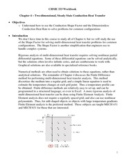 CHME 333 Workbook - Chapter 4 HANDOUT