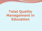 TQM in education.ppt