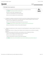 Test: Ethical Issues in Business | Quizlet