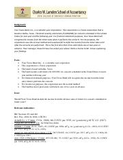Tax memo Acctg 332-1 solution(1)