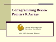 C-Review-Pointers