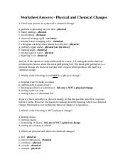 chemistry of life worksheet (1) - Name Chemistry of Life Review ...