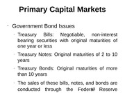 Primary Capital Markets