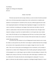 NIa Williams Essay 2