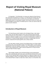 Report of Visiting Royal Museum (2)