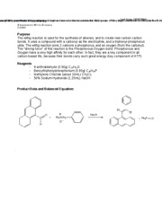 5 Pages Wittig Reaction