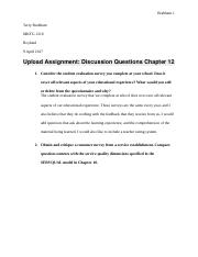 MKTG 1210 disscusion questions chapter 12.docx