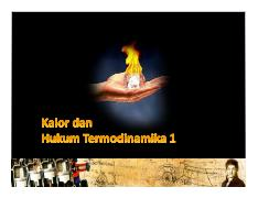 19. Kalor & Hukum Thermodinamika 1