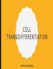 Cell Transdifferentiation.pptx