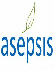 asepsis without waste management