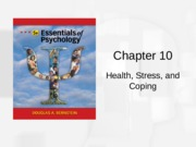 Chapter 10 - Health & Stress