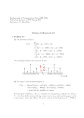 HW 03 Solutions(2)