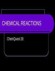 CHEMICAL_REACTIONS_Chemquest_Answers.ppt