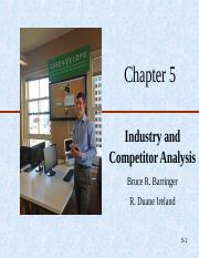 Ch05-Industry & Competitor Analysis.ppt