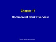 Ch17_Commercial Bank Overview