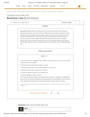 Business Law 13th Edition Chapter 25 Problem 6BCP Solution _ Chegg.pdf