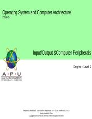 08_Input-Output and Computer Peripherals.ppt