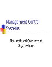 3.++Management+Control+Systems+in+Service,+Government,+Nonprofits.ppt