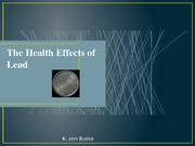 The Health Effects of Lead