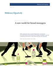 A new world for brand managers