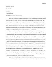 Tashauniel Nelson - A Doll House Final Draft.docx