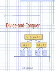 DivideAndConquer.ppt