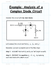 Example_Analysis of a Complex Diode Circuit